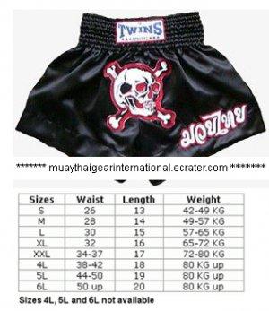 TS098 - Twins Special Muay Thai Shorts