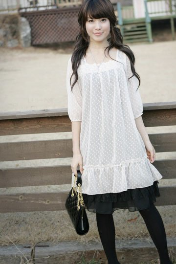 ML 9003 White dress