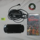 Psp handheld console w/games and w/1gb sandisk pro duo memory stick