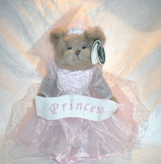 Bearington Bear Pink Fairy Princess - Princess Bearytale