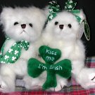 Bearington Bear St. Patrick's Irish Pair - Lucky Lad & Lass