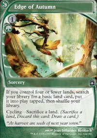 Edge of Autumn -Playset, x4