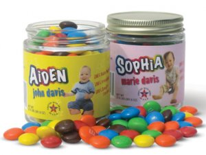 1 Personalized 1st Birthday Party Favor
