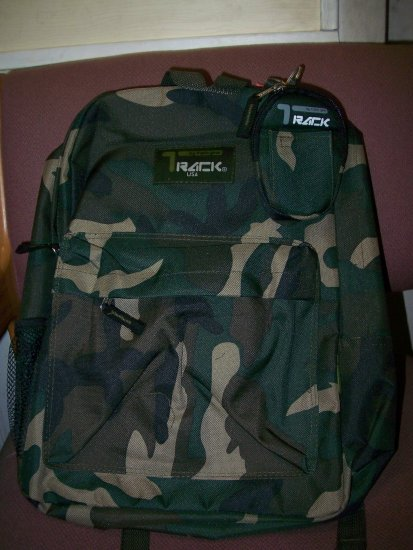 camo back pack