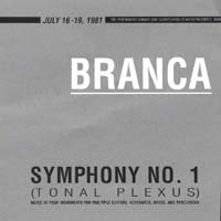 Glenn Branca Symphony No. 1 (Tonal Plexus) CD No Wave FREE SHIPPING