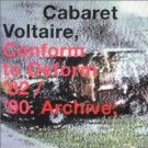 Cabaret Voltaire Conform to Deform 3 CD FREE SHIPPING