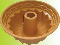 Silicone bakeware(deep boundt cake pan)