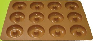 Silicone bakeware(12 cup donut )