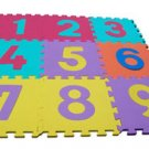 EVA foam numeral puzzle mats