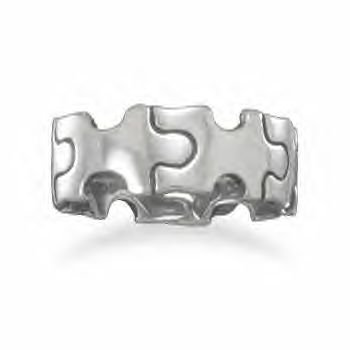 Puzzle Piece Ring