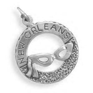 New Orleans Charm With Mardi Gras Mask