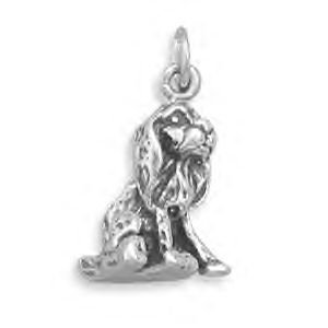 Sterling Silver Cocker Spaniel Charm