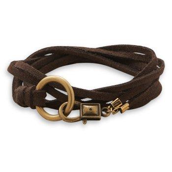 Double Strand Suede Wrap Bracelet