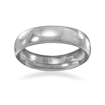 5mm Sterling Silver Band