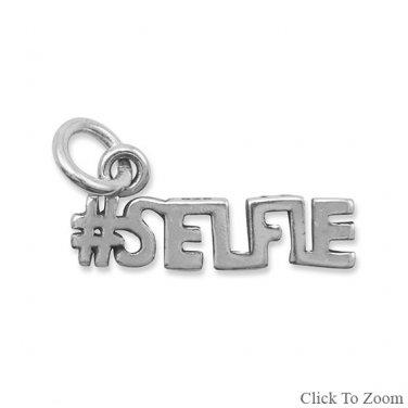 Oxidized #SELFIE Charm