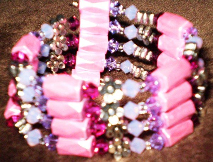 "Genuine SWAROVSKI CRYSTAL necklace, anklet, bracelet, choker ""wrap"""