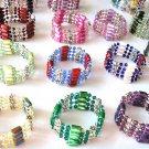 "Genuine Swarovski crystals ""wrap""  (anklet, necklace, choker, bracelet)"
