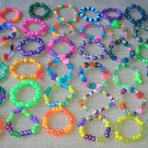 assorted stretchy kids bracelets
