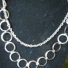 silver layered necklace custom styles & lengths welcome