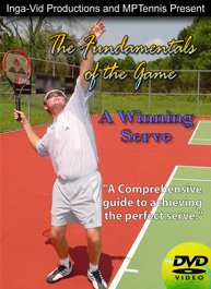 Tennis Instruction DVD Video , Serve Lessons