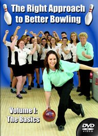 Bowling Instruction DVD Video , The Right Approach!