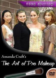 Pro Makeup Instruction DVD Video , Teen Edition