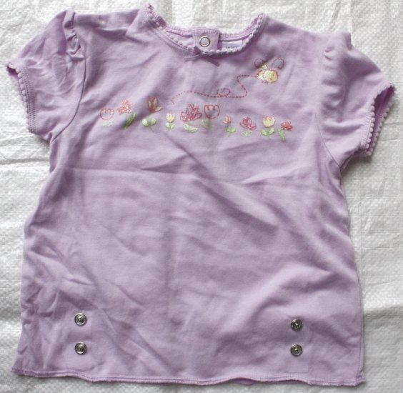 CARTER'S Purple Short Sleeve Top (RM24.90)