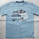 GAP Light Blue T- Shirt (RM29.90)