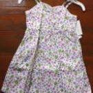 LAURA ASHLEY Light Green Floral Sleeveless Dress (RM34.90)