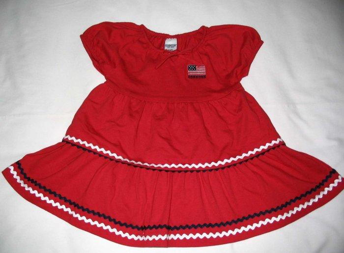 OSH KOSH Red Chiffon Dress (RM36.90) LAST PIECE!