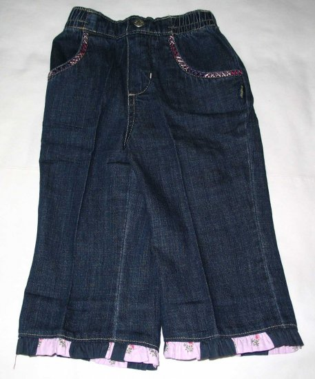 OSH KOSH Girls Long Denim Trousers (RM37.00)