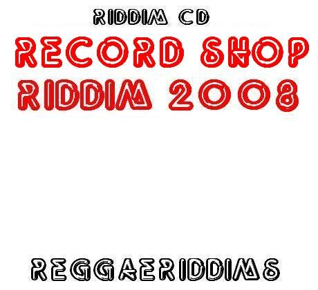 Record shop riddim