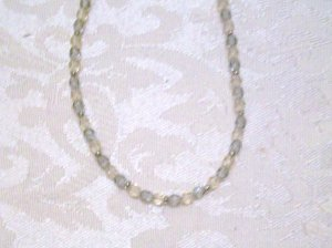 Little Yellow and Purple Necklace