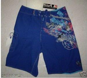 New Quiksilver Men's Board Shorts Blue W:32