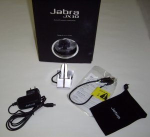 New Jabra JX10 Bluetooth Black Headset