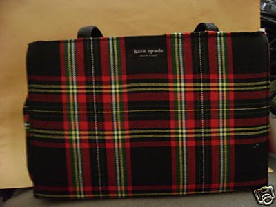 Genuine Kate Spade Brand Purse/Handbag Plaid