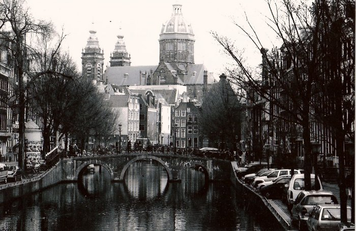 Amsterdam (mounted & framed)