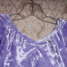 Lilac Skirted Leotard Dance Dress Size M