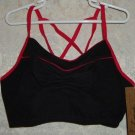 Girls Black and Red Camisole Bra Top Size L