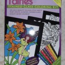 Fairies Stained Glass Coloring Kit with Markers