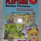Create Your Own Playtime Sticker Pictures Book