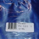 Satin Basic Leotard from Leo's Dancewear, Style #72-20 Royal Size 8c