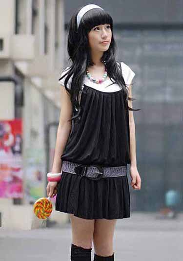 Characteristc Buckle Dress
