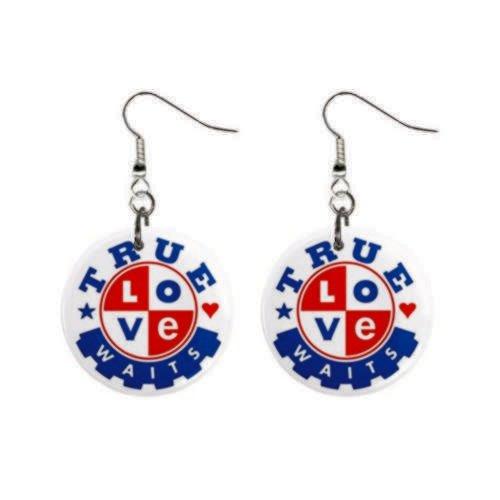 True Love Waits Earrings-- Free Shipping