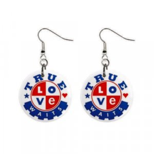 True Love Waits Earrings-- Free Shipping