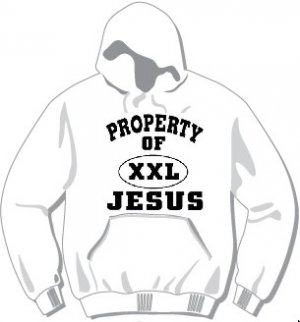 Property of Jesus (Black Lettering) Hoodie available in 3 colors