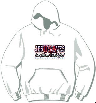 JesUSAves Hoodie available in 3 colors