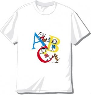 Youth ABC T-shirt Available in 3 colors