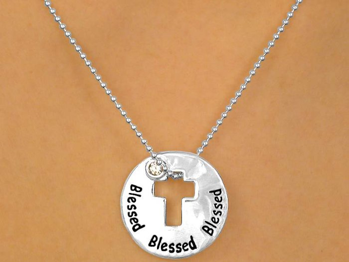 "Christian ""Blessed"" Necklace"