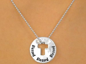 """Christian """"Blessed"""" Necklace"""